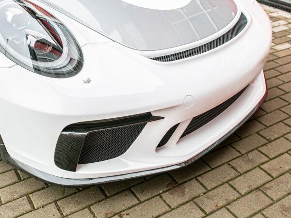 Porsche 991 Speedster Carbon-Frontlippe im Tausch