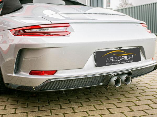 Porsche 991 Speedster Carbon Heckansatz