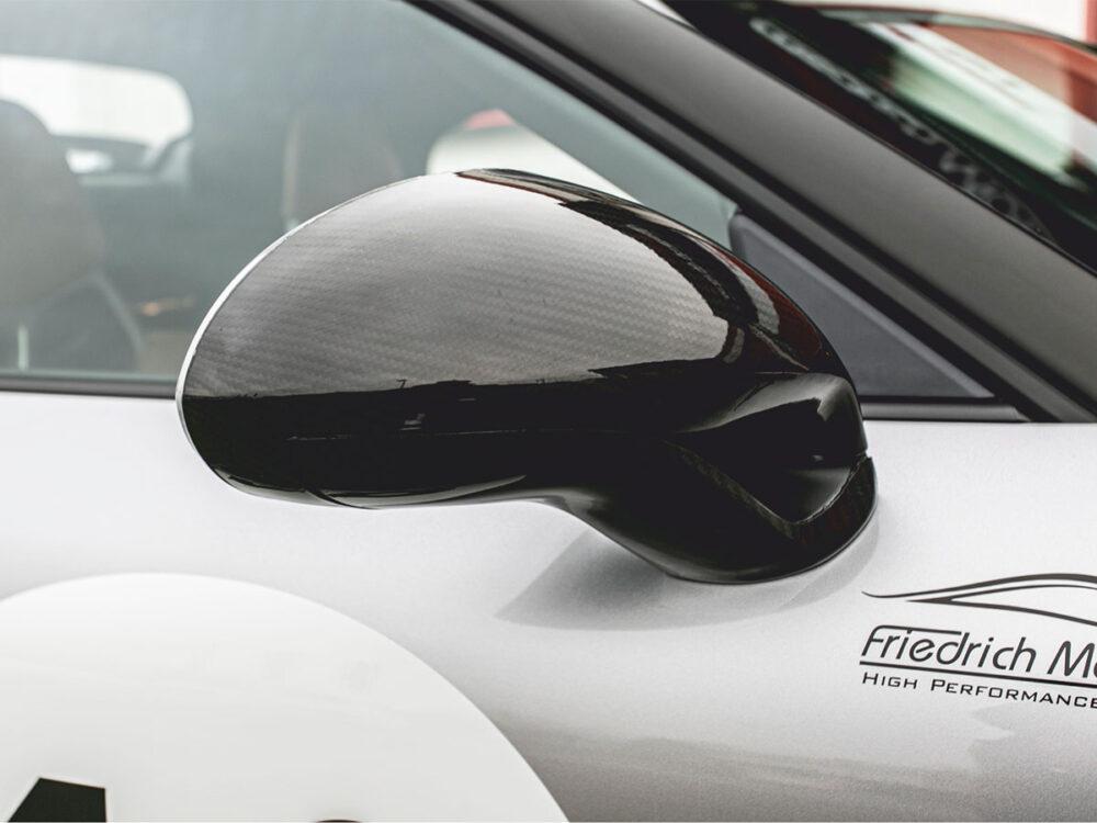 Porsche 991 Speedster Carbon-Spiegelkappe im Tausch (Satz)