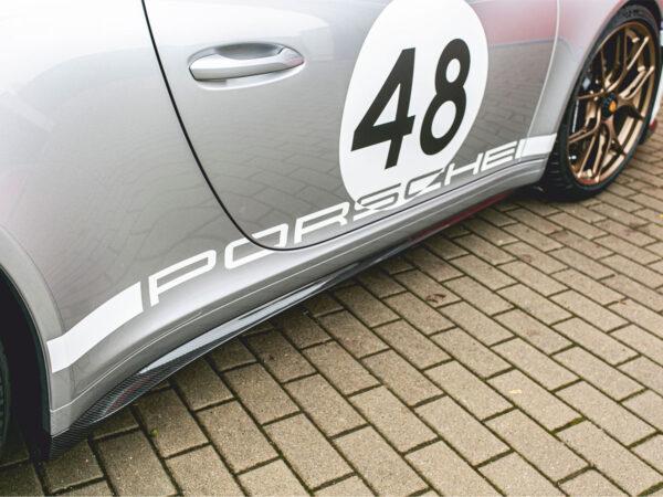 Porsche 991 Speedster Carbon-Seitenschweller im Tausch (Satz)