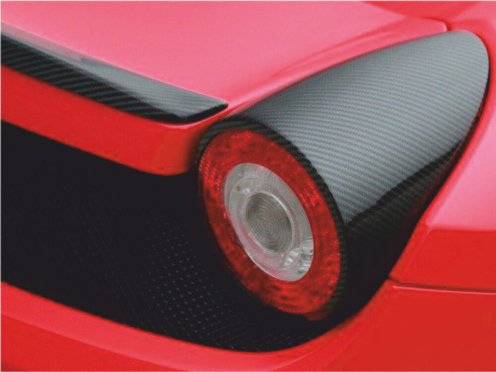 Ferrari 458 Italia Abdeckung Rückleuchte
