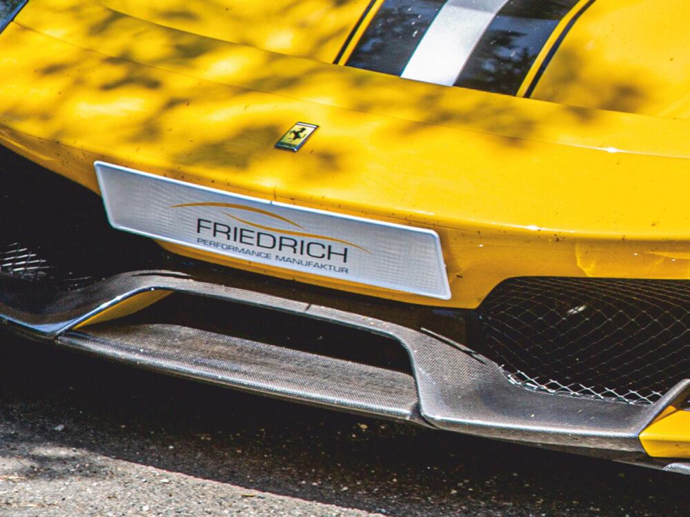 Ferrari 488 Pista Frontschwert