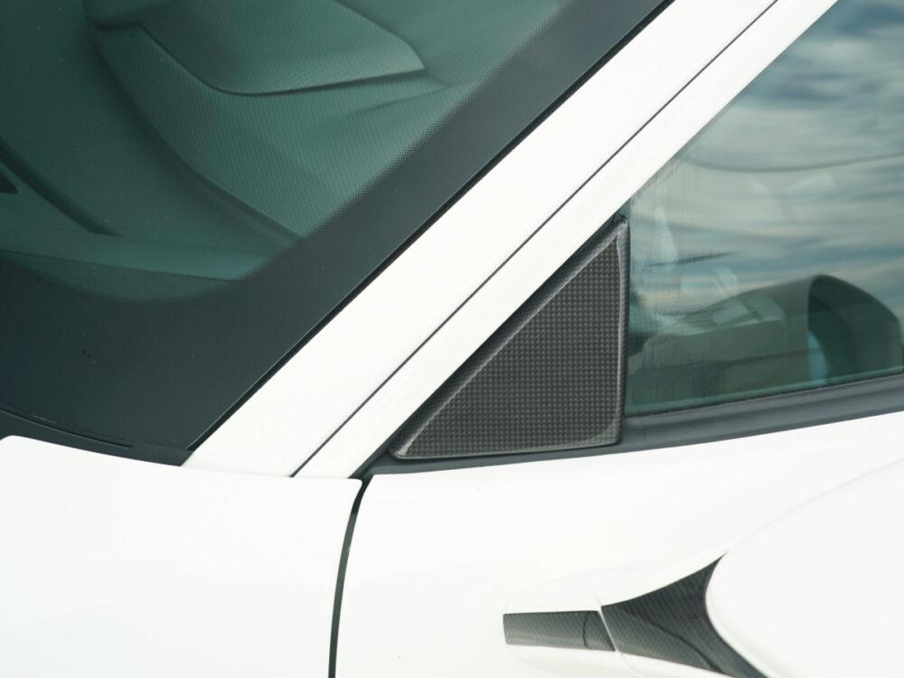 Ferrari 488 Pista dreiecks-abdeckung-fensterscheibe