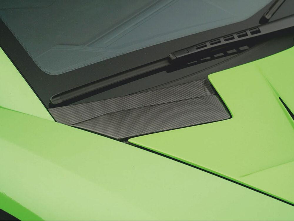 Lamborghini Aventador SVJ Luftauslass Kofferraumdeckel