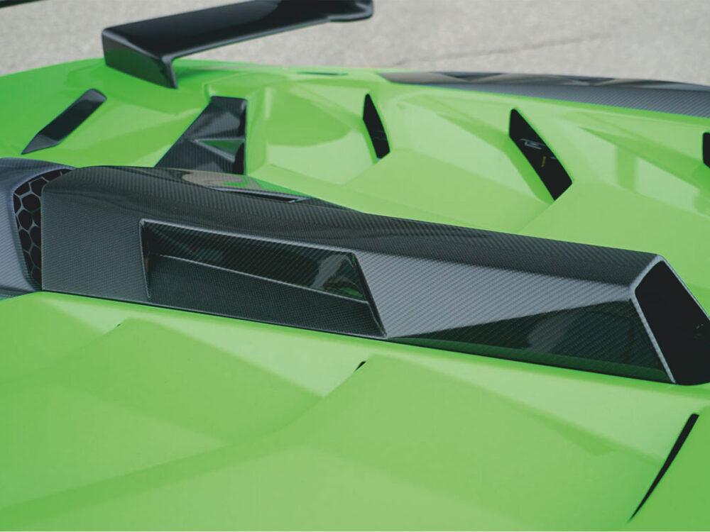 Lamborghini Aventador SVJ Lufteinlass Dachhutze