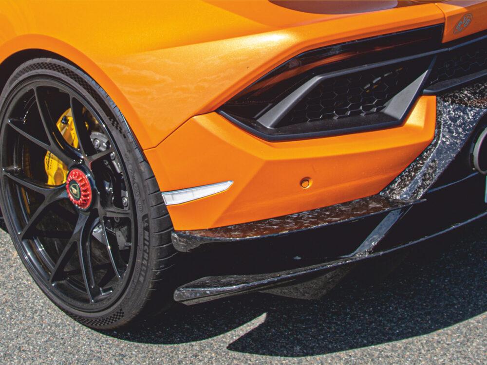 Lamborghini Huracan Performante diffusoraufsatz-satz