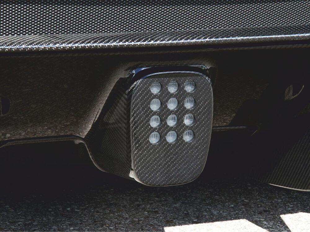 Ferrari 488 GTB Spider Nebellicht Abdeckung
