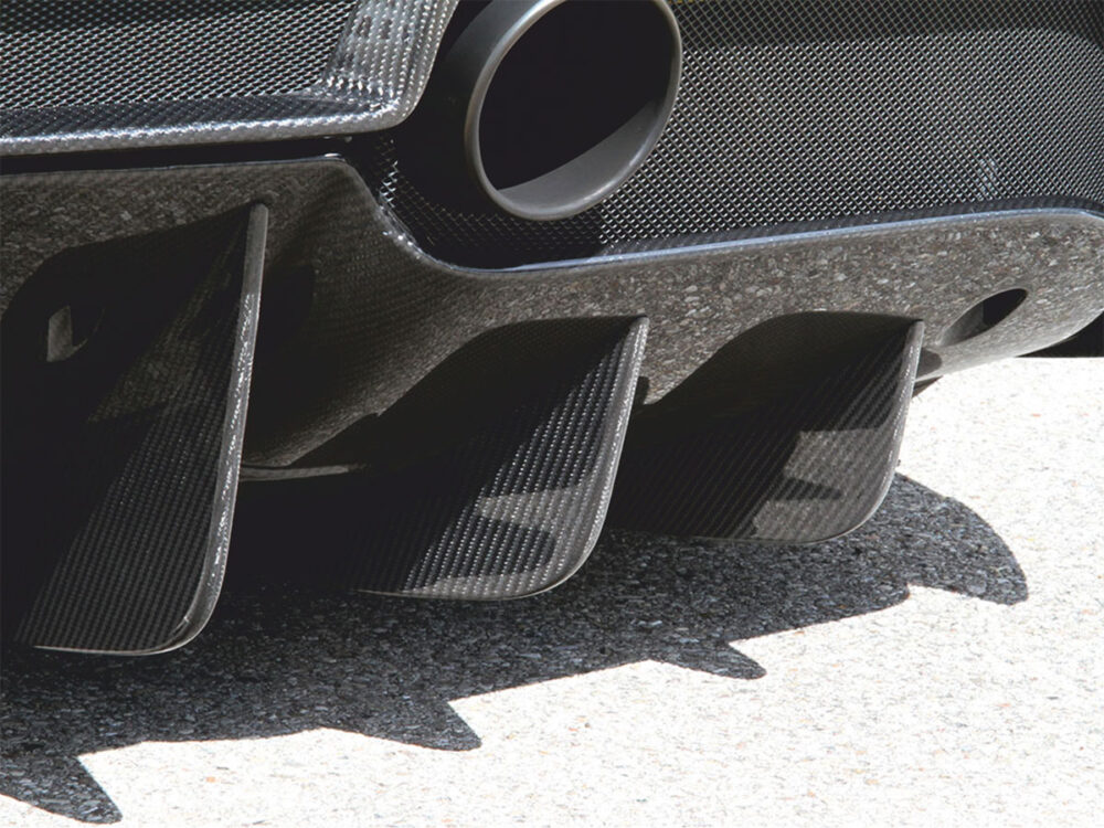Ferrai 488 GTB Spider Diffusor-Finnen