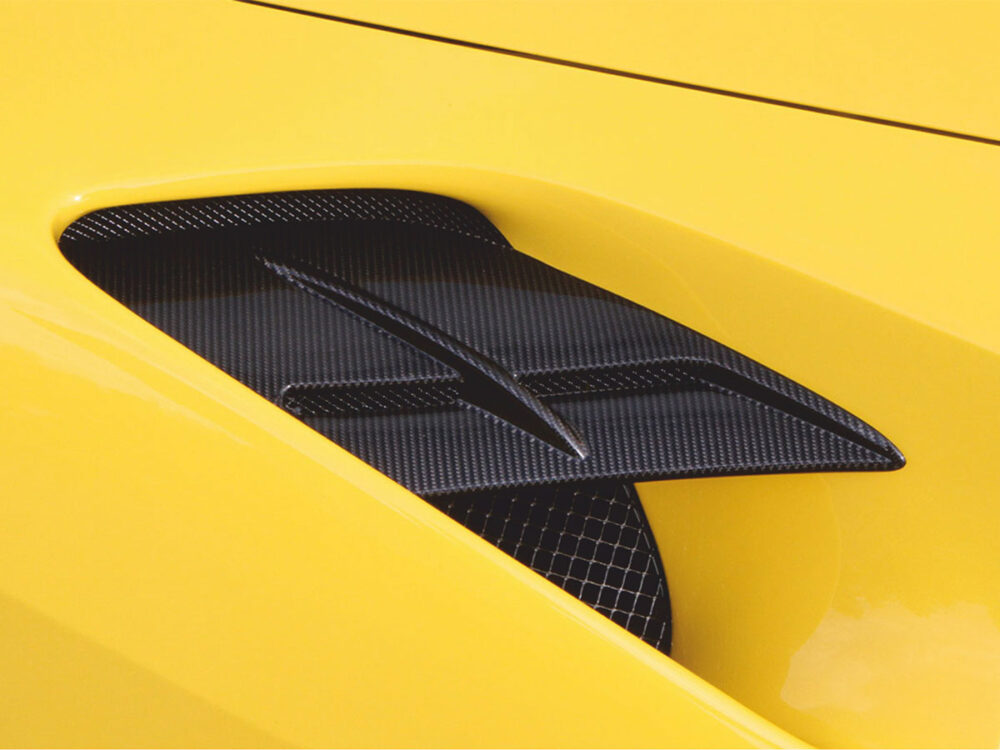 Ferrari 488 GTB Spider Luftführung Seitenteil N-Largo