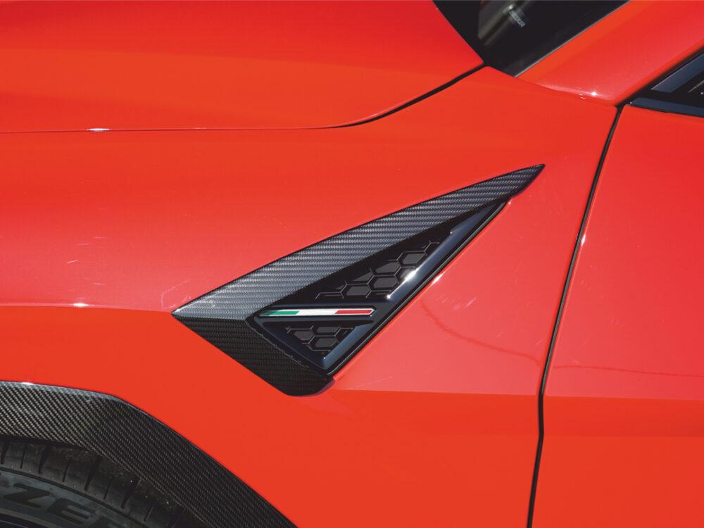 Lamborghini Urus Kotflügelaufsatz