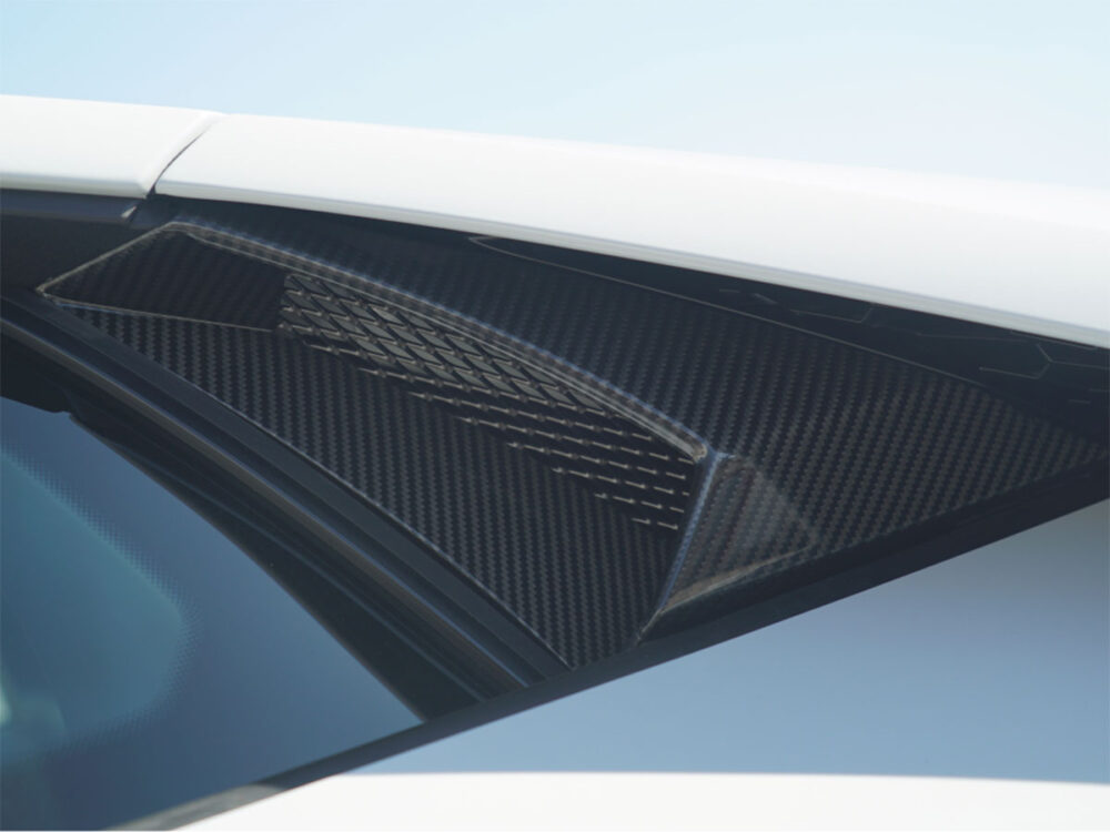 Lamborghini Huracan Evo Lufteinlass Seitenfenster